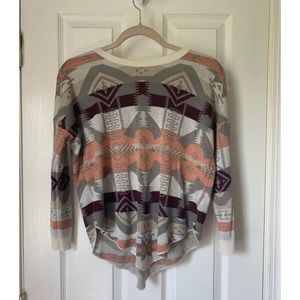 Tribal Long Sleeve Sweater